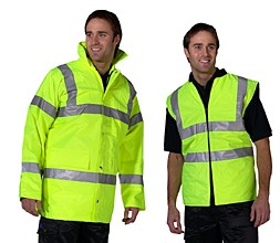 Signaalkleding Bedrijfsveiligheid