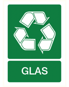 Pictogram Recycling glas