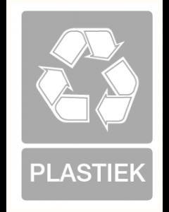 Pictogram Recycling plastiek
