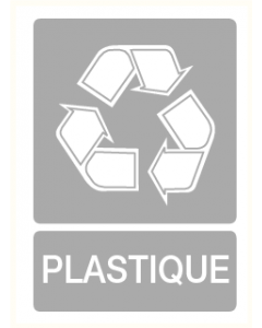 Pictogram Recycling plastique