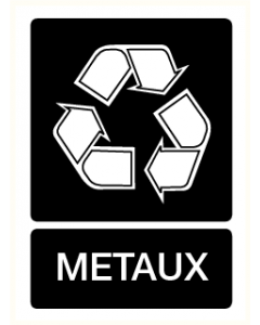 Pictogram Recycling metaux