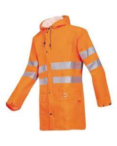 Sioen 3720 Unzen jas fluor oranje