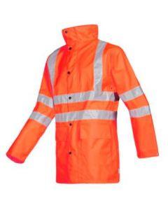 Sioen 598Z Monoco jas fluor rood