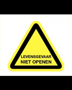 Levensgevaar niet openen