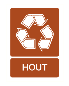 Recycling hout