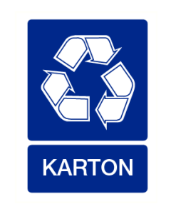 Recycling karton