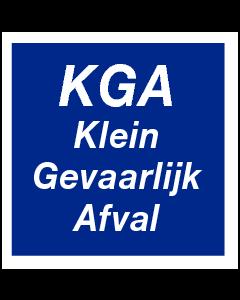 KGA Klein Gevaarlijk Afval