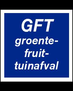 GFT groente-, fruit-, tuinafval