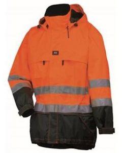 Helly Hansen 71374 Potsdam parka fluor oranje/zwart