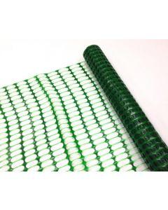 Afzetnet HDPE Heavy 50 x 1 meter, 240 gram/m2, kleur groen