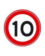Verkeersbord A01(10)